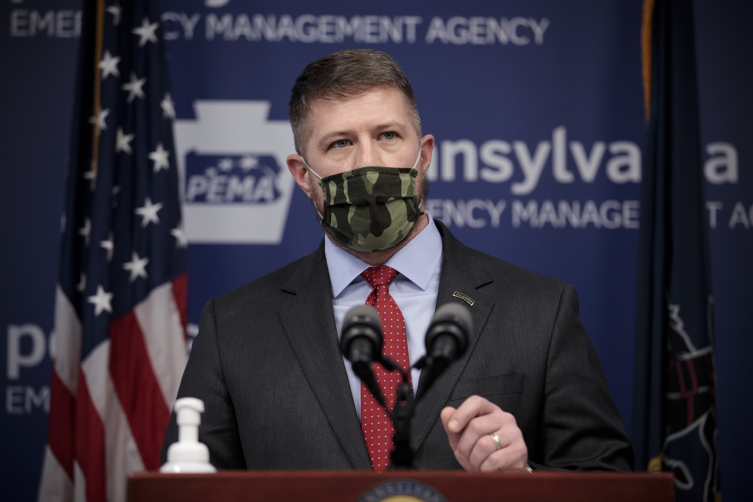 """<a href=""""https://filesource.wostreaming.net/commonwealthofpa/photo/18561_gov_vaccine_dz_03.jpg"""" target=""""_blank"""">⇣Download Photo<br></a>Rep. Tim ONeal speaks at the press conference.  As part of the priority to safely and quickly get more students back in the classroom, Governor Tom Wolf and the COVID-19 Vaccine Task Force today announced that Pennsylvania will use the Johnson & Johnson (Janssen) single-dose COVID-19 vaccine for PreK-12 teachers and other school staff. Harrisburg, PA  March 3, 2021"""