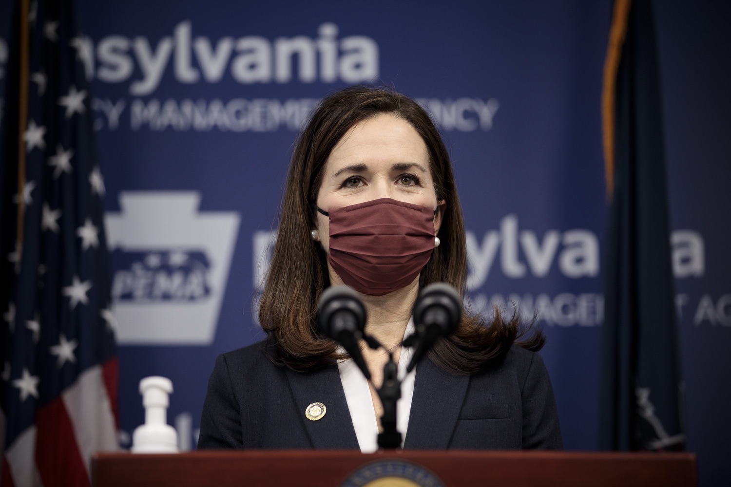 """<a href=""""https://filesource.wostreaming.net/commonwealthofpa/photo/18561_gov_vaccine_dz_06.jpg"""" target=""""_blank"""">⇣Download Photo<br></a>Rep. Bridget Kosierowski speaks at the press conference.  As part of the priority to safely and quickly get more students back in the classroom, Governor Tom Wolf and the COVID-19 Vaccine Task Force today announced that Pennsylvania will use the Johnson & Johnson (Janssen) single-dose COVID-19 vaccine for PreK-12 teachers and other school staff. Harrisburg, PA  March 3, 2021"""