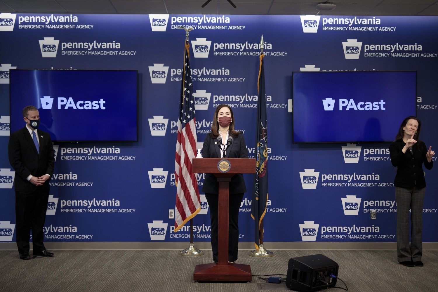 """<a href=""""https://filesource.wostreaming.net/commonwealthofpa/photo/18561_gov_vaccine_dz_08.jpg"""" target=""""_blank"""">⇣Download Photo<br></a>Rep. Bridget Kosierowski speaks at the press conference.  As part of the priority to safely and quickly get more students back in the classroom, Governor Tom Wolf and the COVID-19 Vaccine Task Force today announced that Pennsylvania will use the Johnson & Johnson (Janssen) single-dose COVID-19 vaccine for PreK-12 teachers and other school staff. Harrisburg, PA  March 3, 2021"""