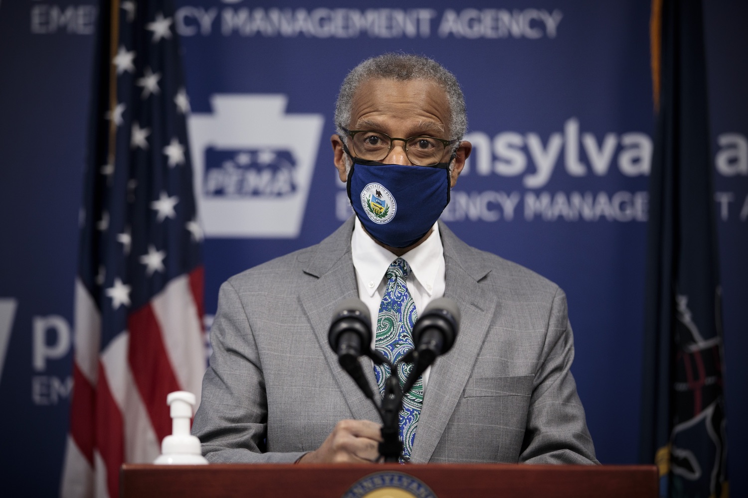 """<a href=""""https://filesource.wostreaming.net/commonwealthofpa/photo/18561_gov_vaccine_dz_11.jpg"""" target=""""_blank"""">⇣Download Photo<br></a>Sen. Art Haywood speaks at the press conference.As part of the priority to safely and quickly get more students back in the classroom, Governor Tom Wolf and the COVID-19 Vaccine Task Force today announced that Pennsylvania will use the Johnson & Johnson (Janssen) single-dose COVID-19 vaccine for PreK-12 teachers and other school staff. Harrisburg, PA  March 3, 2021"""