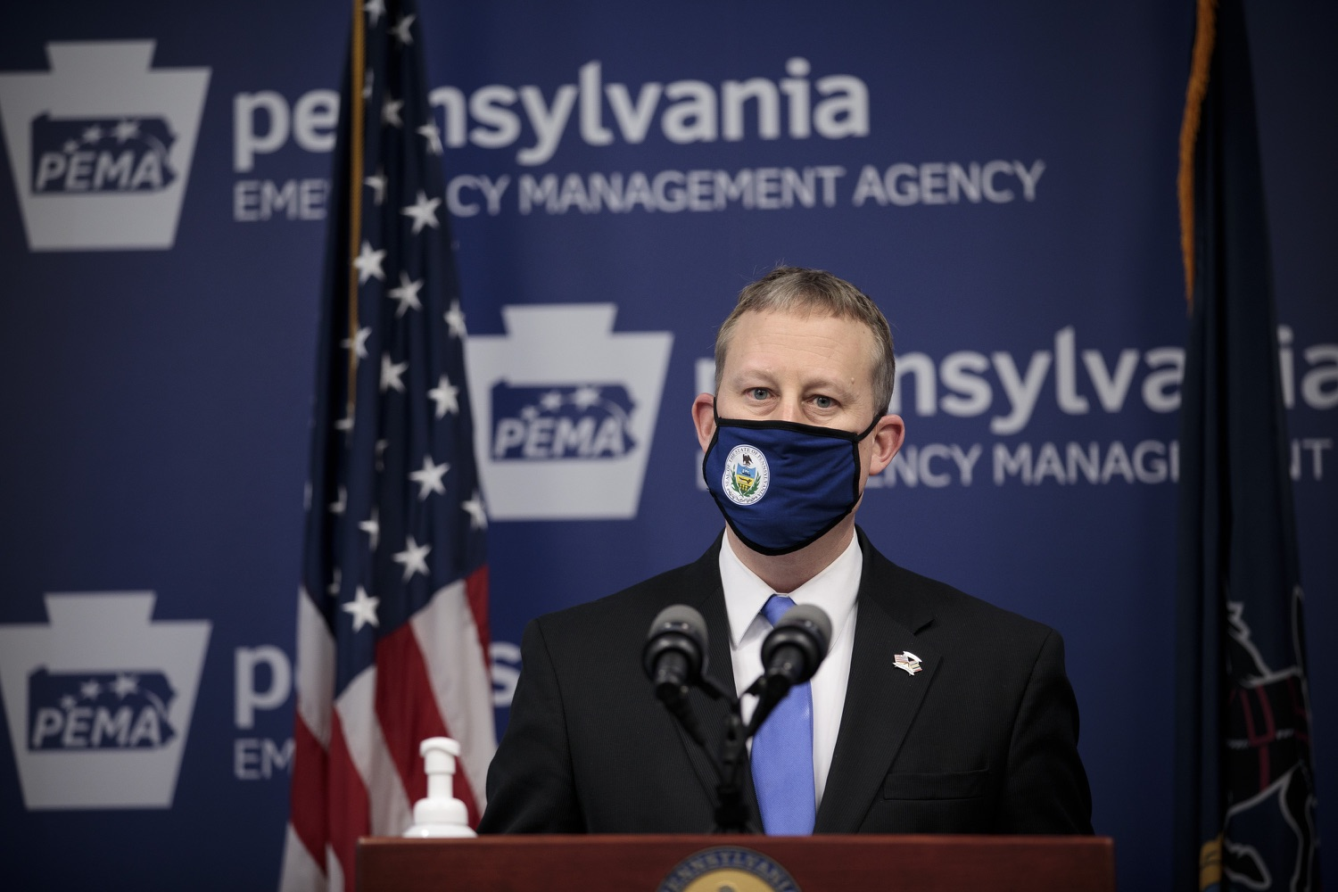 """<a href=""""https://filesource.wostreaming.net/commonwealthofpa/photo/18561_gov_vaccine_dz_15.jpg"""" target=""""_blank"""">⇣Download Photo<br></a>Sen. Ryan Aument speaks at the press conference.  As part of the priority to safely and quickly get more students back in the classroom, Governor Tom Wolf and the COVID-19 Vaccine Task Force today announced that Pennsylvania will use the Johnson & Johnson (Janssen) single-dose COVID-19 vaccine for PreK-12 teachers and other school staff. Harrisburg, PA  March 3, 2021"""