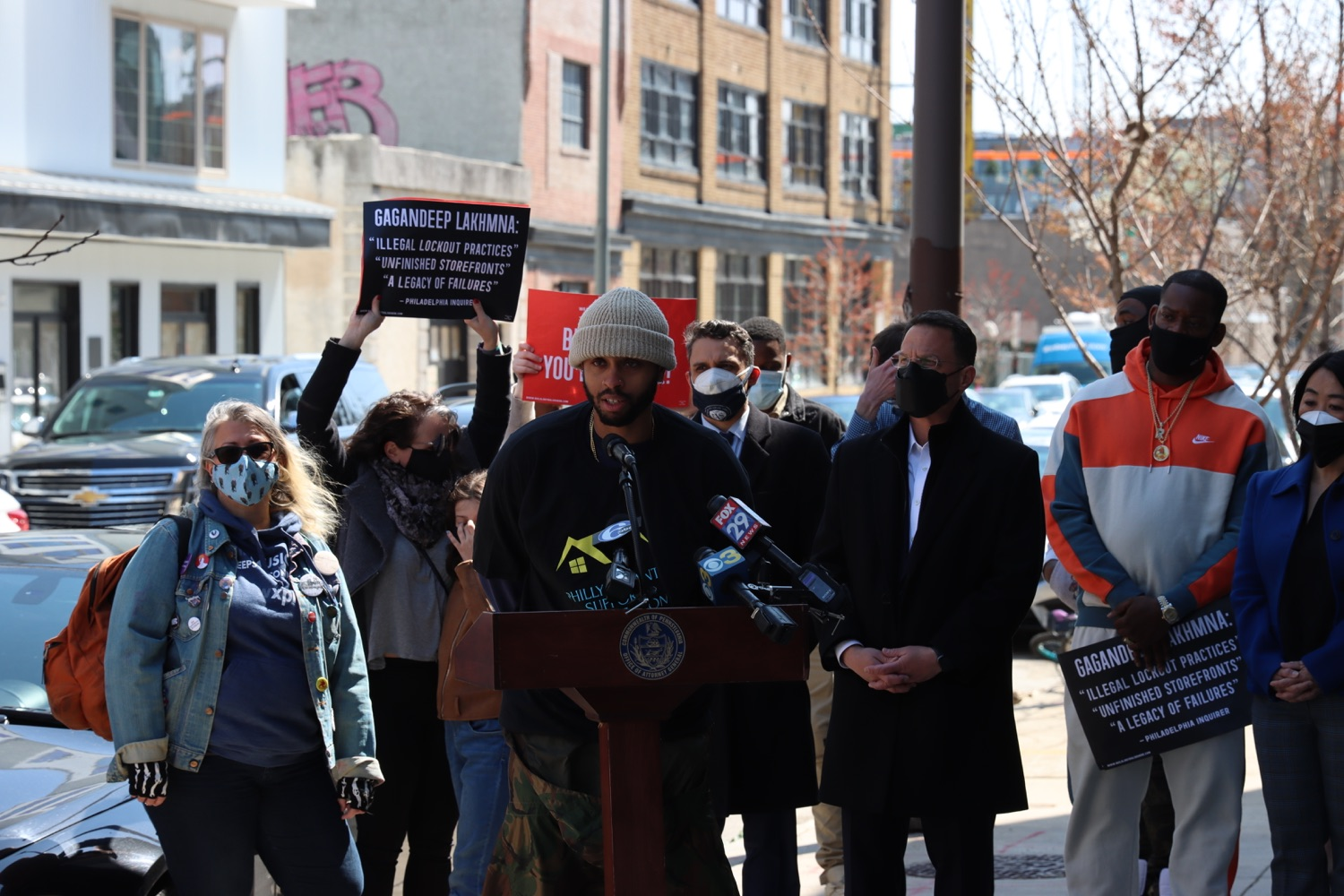 """<a href=""""https://filesource.wostreaming.net/commonwealthofpa/photo/18652_oag_evictions_11.JPG"""" target=""""_blank"""">⇣Download Photo<br></a>AG Shapiro, Impacted Tenants Mark Victory in Eviction Case"""