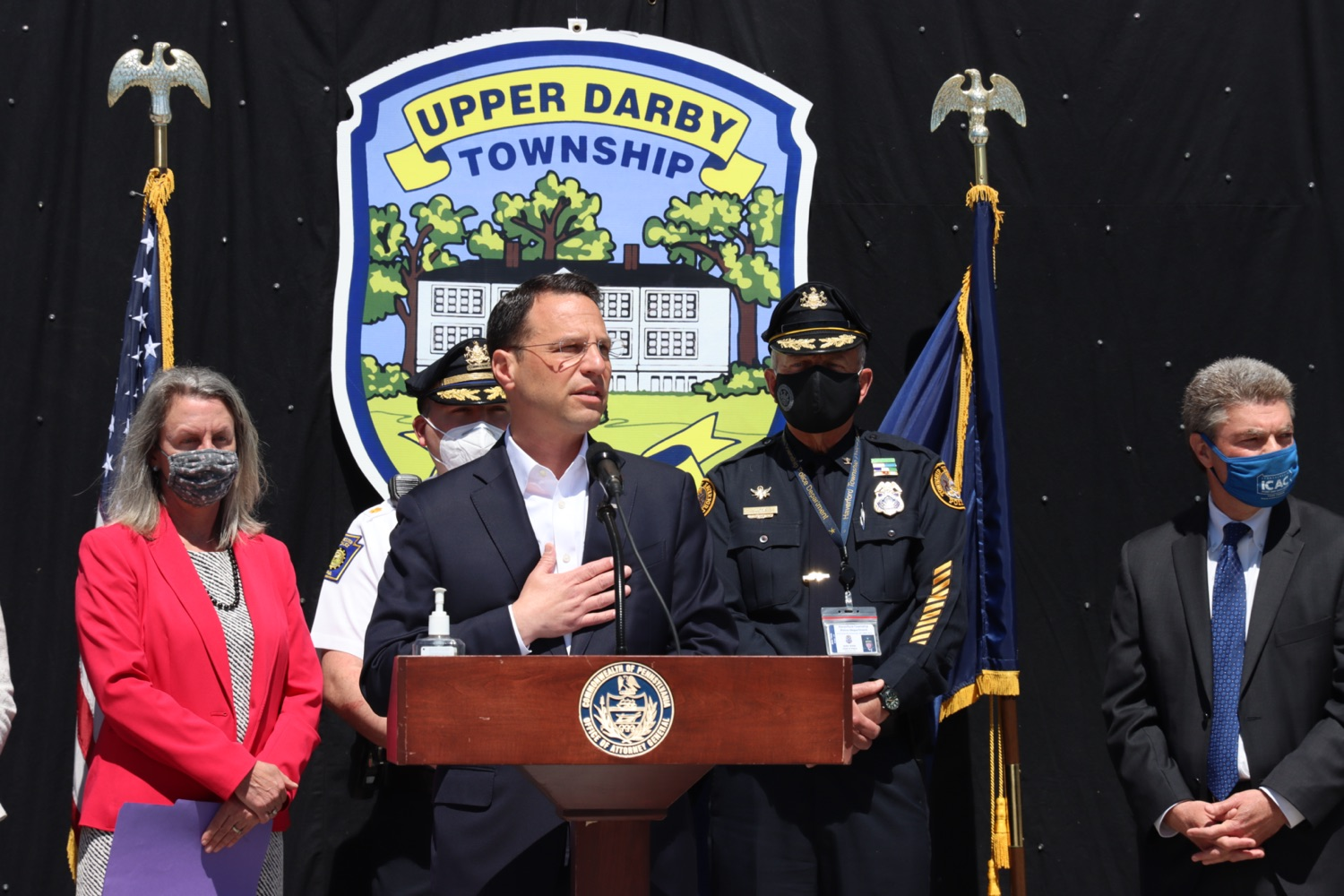 """<a href=""""https://filesource.wostreaming.net/commonwealthofpa/photo/18684_oag_delawareLETI_3.JPG"""" target=""""_blank"""">⇣Download Photo<br></a>Delaware County Joins AG Shapiro's Treatment Initiative"""