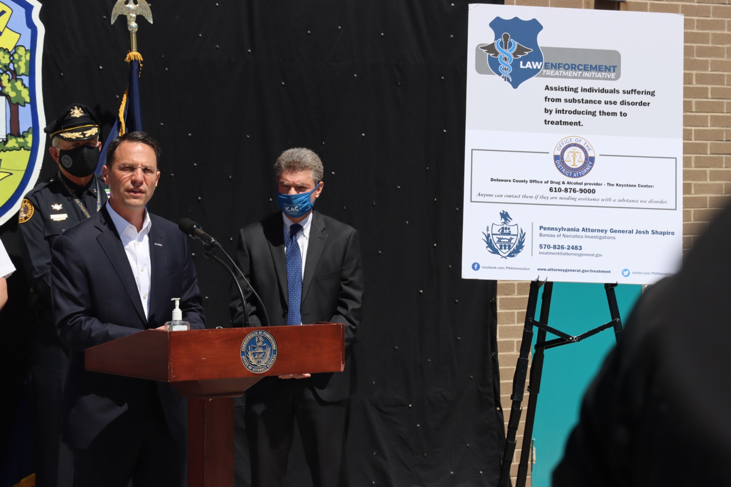 """<a href=""""https://filesource.wostreaming.net/commonwealthofpa/photo/18684_oag_delawareLETI_4.JPG"""" target=""""_blank"""">⇣Download Photo<br></a>Delaware County Joins AG Shapiro's Treatment Initiative"""