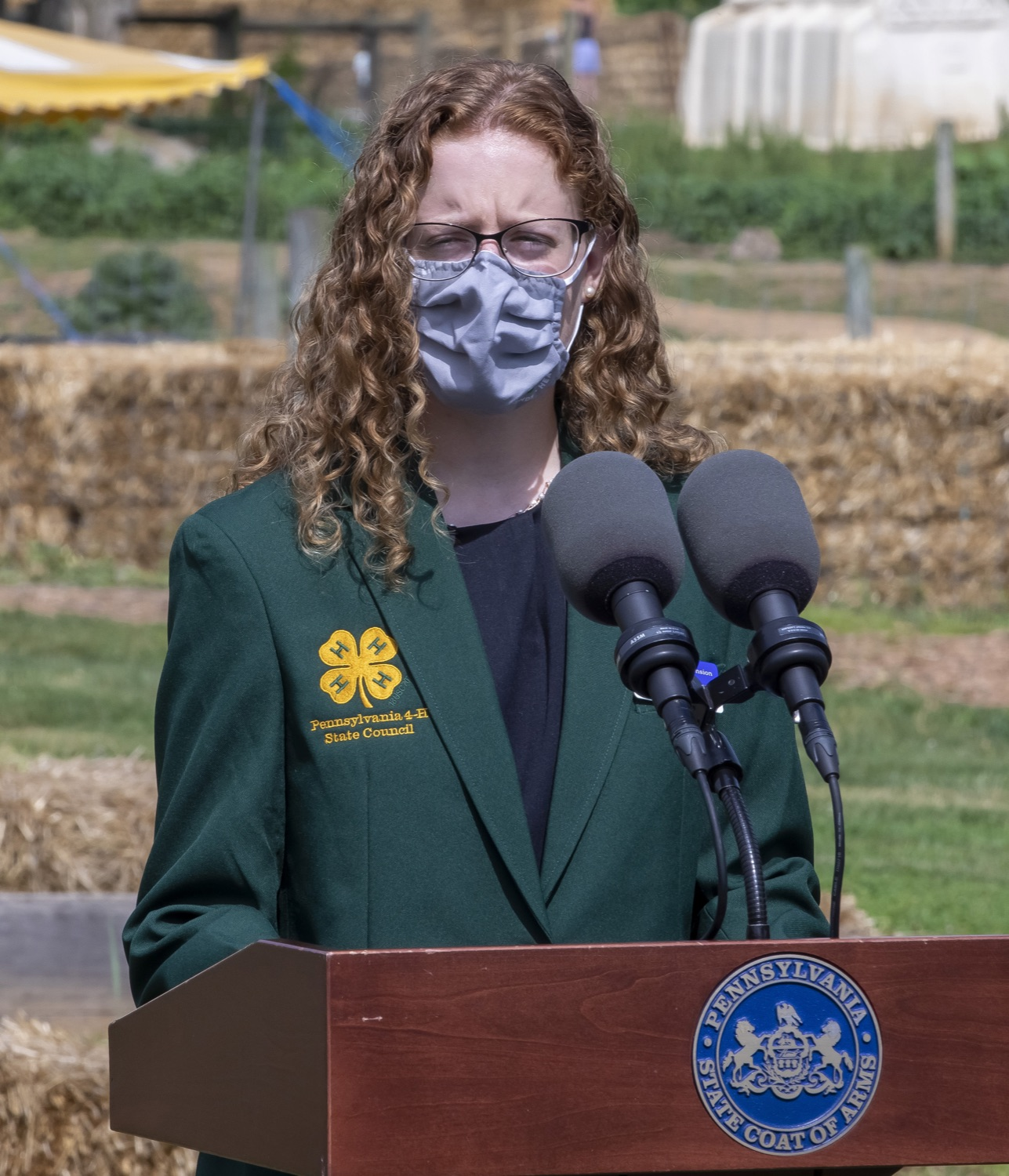 """<a href=""""https://filesource.wostreaming.net/commonwealthofpa/photo/18791_agric_AGcareer_00014.jpg"""" target=""""_blank"""">⇣Download Photo<br></a>Clair Cohick, 4-H Council Secretary"""
