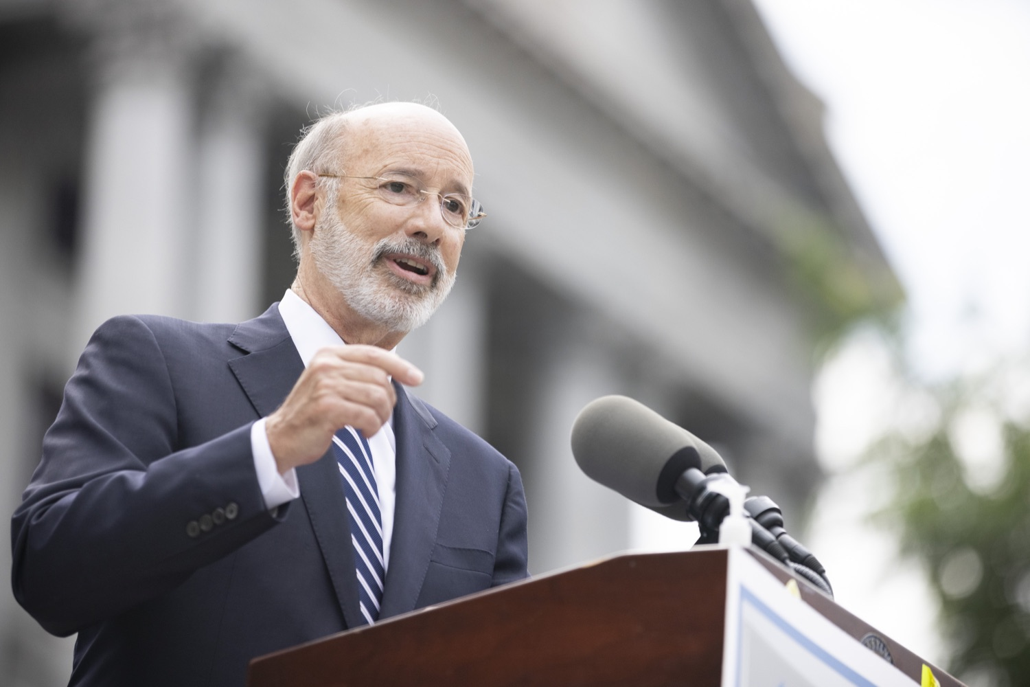 """<a href=""""https://filesource.wostreaming.net/commonwealthofpa/photo/18810_gov_fairFunding_dz_024.jpg"""" target=""""_blank"""">⇣Download Photo<br></a>Pennsylvania Governor Tom Wolf speaking at the event. Continuing their commitment to students and working families, Governor Tom Wolf and House and Senate Democratic Leaders held a Capitol press conference today to highlight the injustice in the states school funding system and call for fair funding of every district.  Harrisburg, PA   June 8, 2021"""