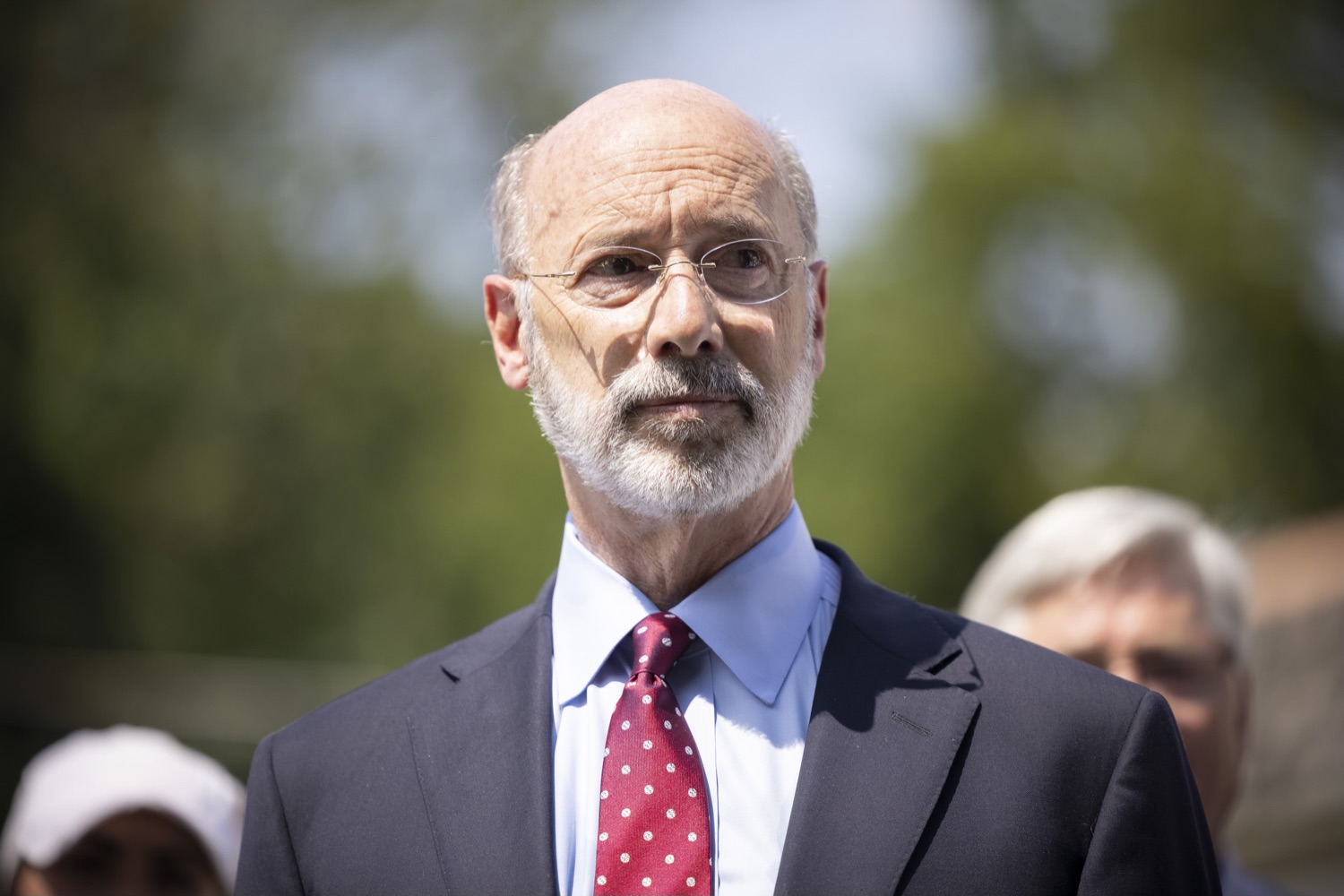 """<a href=""""https://filesource.wostreaming.net/commonwealthofpa/photo/18934_gov_stormDamage_05.jpg"""" target=""""_blank"""">⇣Download Photo<br></a>Gov. Wolf Tours Bucks County Communities Affected by Severe Weather, Flooding"""