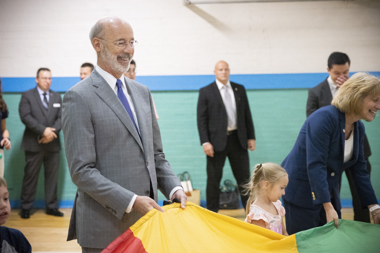 """<a href=""""https://filesource.wostreaming.net/commonwealthofpa/photo/18940_gov_childhooded_dz_020.jpg"""" target=""""_blank"""">⇣Download Photo<br></a>Governor Tom Wolf today was joined by advocates and legislative members to celebrate the $30 million increase in early childhood education funding in the state budget at the YMCA in Reading. This new funding will allow an additional 3,270 children to enroll in the states high-quality early learning programs.  Reading, PA - July 19, 2021"""