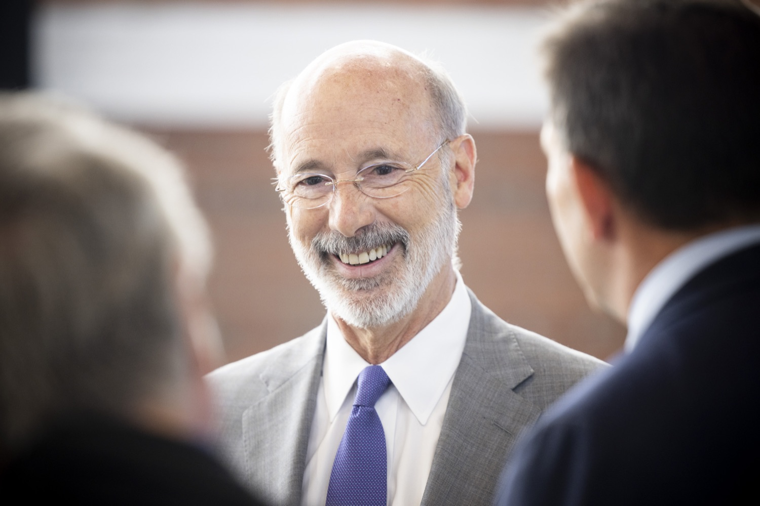 """<a href=""""https://filesource.wostreaming.net/commonwealthofpa/photo/18941_gov_economicDevelopment_dz_019.jpg"""" target=""""_blank"""">⇣Download Photo<br></a>Governor Tom Wolf today visited Factory LLC in Bethlehem to tour the facility and highlight the importance of investing in Pennsylvanias start-up companies. During the visit, he met with companies affiliated with Factory, including Stuffed Puffs®, which received a $1 million funding proposal from the commonwealth in 2019 to expand its manufacturing operations and create jobs, Mikeys®, Pipcorn®, Honey Stinger®, and ROAR® Organic. Bethlehem, PA  July 19, 2021"""