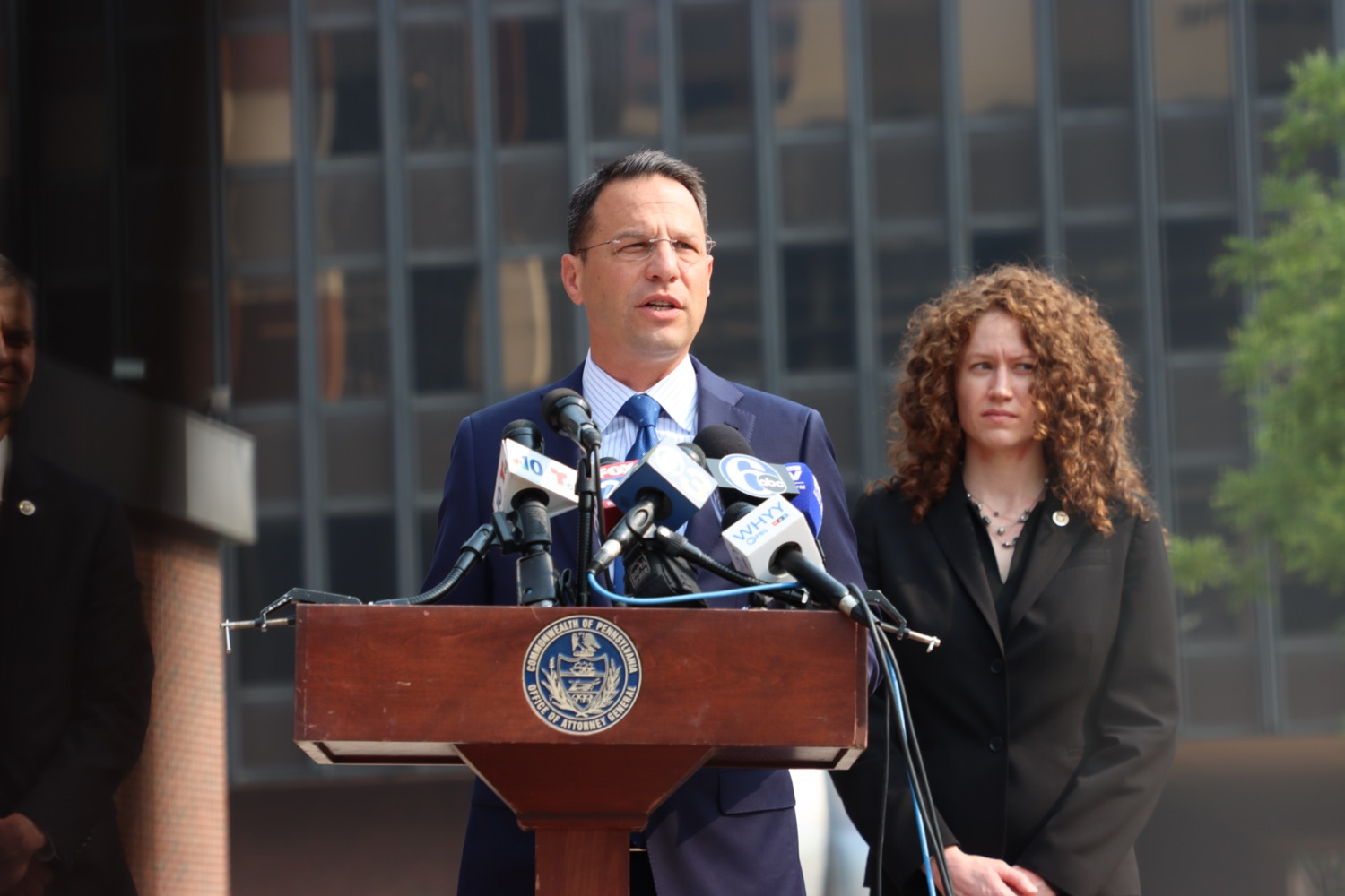 """<a href=""""https://filesource.wostreaming.net/commonwealthofpa/photo/18943_oag_USPSphila_00001.JPG"""" target=""""_blank"""">⇣Download Photo<br></a>AG Shapiro Takes Postmaster DeJoy To Court Over Illegal Cuts Hurting Seniors, Veterans"""