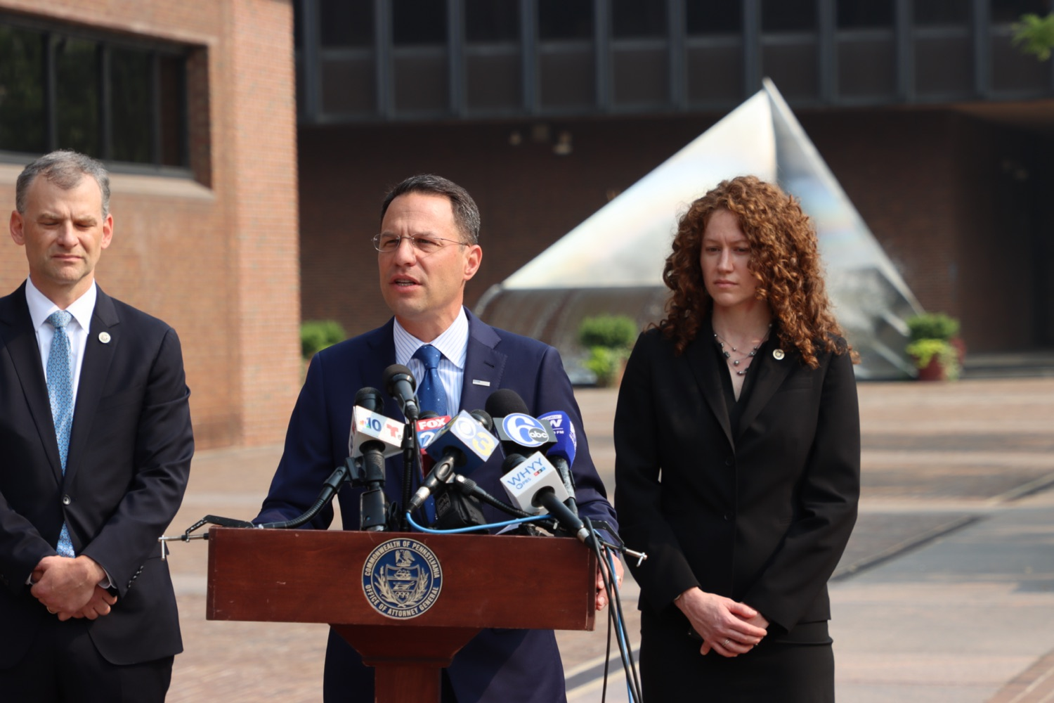 """<a href=""""https://filesource.wostreaming.net/commonwealthofpa/photo/18943_oag_USPSphila_00006.JPG"""" target=""""_blank"""">⇣Download Photo<br></a>AG Shapiro Takes Postmaster DeJoy To Court Over Illegal Cuts Hurting Seniors, Veterans"""