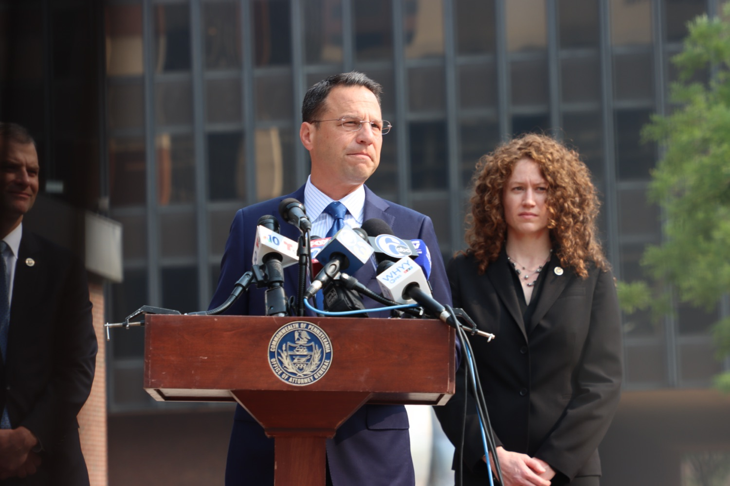 """<a href=""""https://filesource.wostreaming.net/commonwealthofpa/photo/18943_oag_USPSphila_00009.JPG"""" target=""""_blank"""">⇣Download Photo<br></a>AG Shapiro Takes Postmaster DeJoy To Court Over Illegal Cuts Hurting Seniors, Veterans"""
