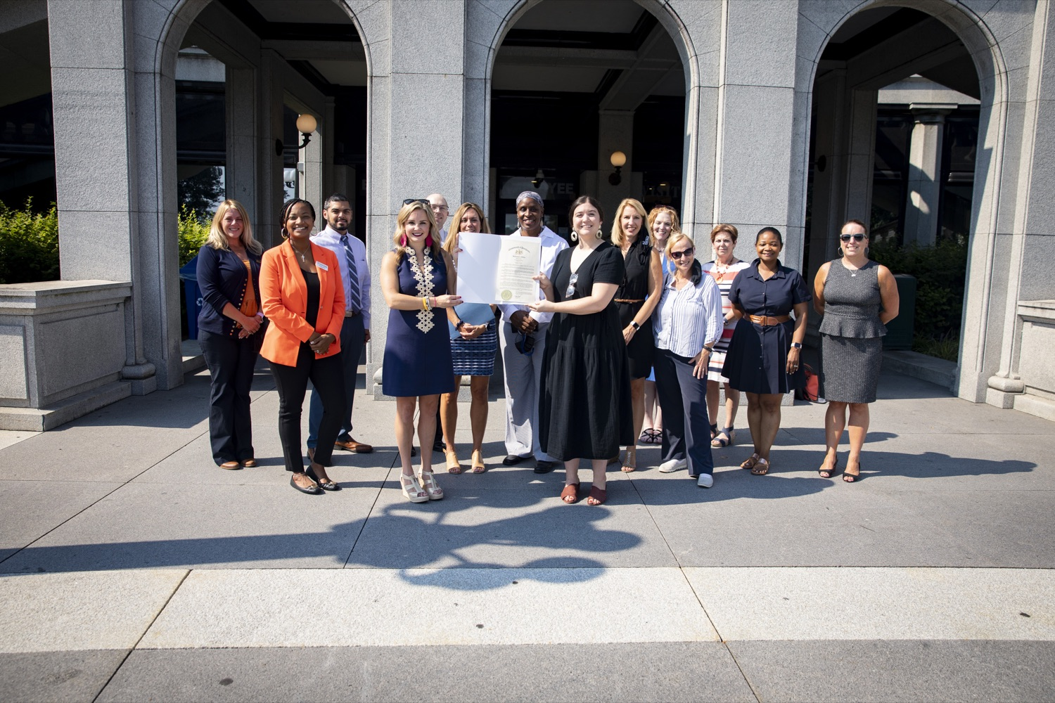 """<a href=""""https://filesource.wostreaming.net/commonwealthofpa/photo/19104_dhs_hungerAction_cz_01.JPG"""" target=""""_blank"""">⇣Download Photo<br></a>The Wolf Administration teams up with anti-hunger advocates to recognize Hunger Action Month, in Harrisburg, PA on September 15, 2021."""