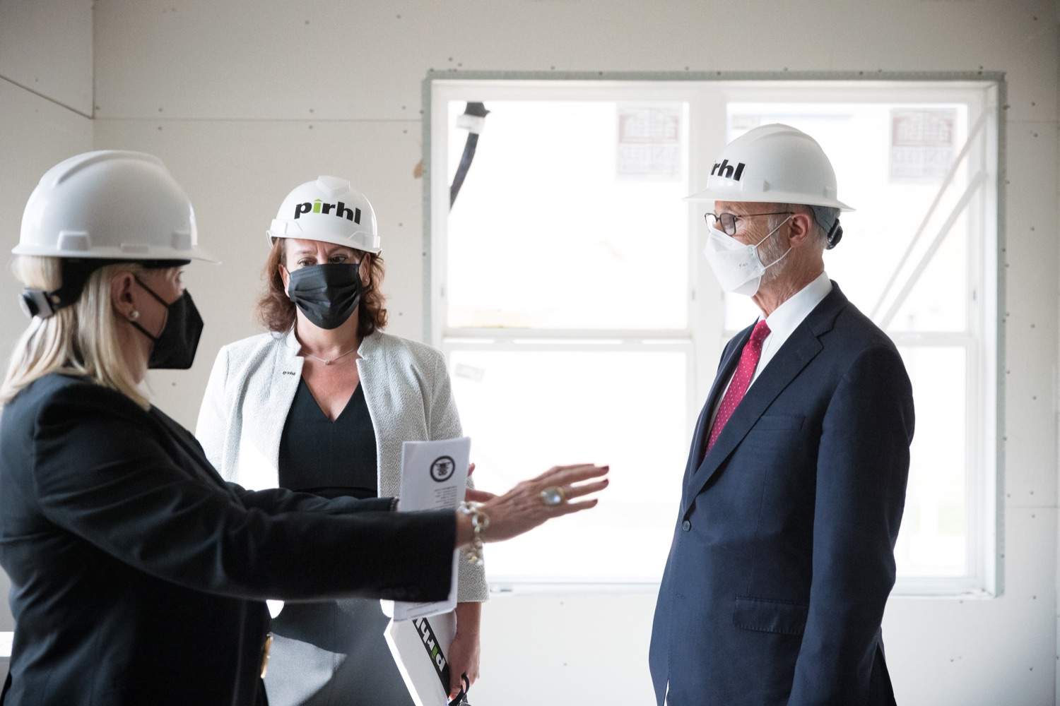 """<a href=""""https://filesource.wostreaming.net/commonwealthofpa/photo/20125_gov_economicDevelopment_dz_001.jpg"""" target=""""_blank"""">⇣Download Photo<br></a>Governor Tom Wolf touring the site of the Mill at Easton. Governor Tom Wolf today visited the City of Easton to highlight millions of dollars in state investments in several economic development projects that are revitalizing formerly vacant and blighted properties.  Easton, PA   October 8, 2021."""
