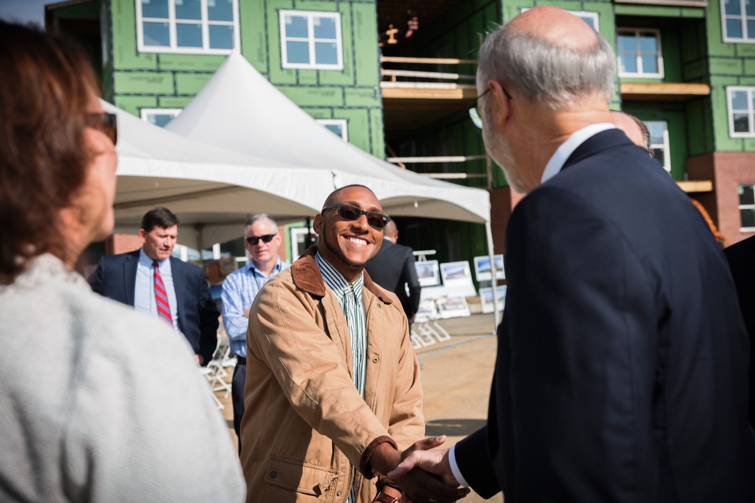 """<a href=""""https://filesource.wostreaming.net/commonwealthofpa/photo/20125_gov_economicDevelopment_dz_004.jpg"""" target=""""_blank"""">⇣Download Photo<br></a>Governor Tom Wolf touring the site of the Mill at Easton. Governor Tom Wolf today visited the City of Easton to highlight millions of dollars in state investments in several economic development projects that are revitalizing formerly vacant and blighted properties.  Easton, PA   October 8, 2021."""